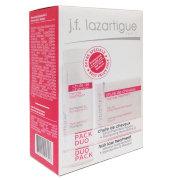 "J.F. Lazartigue Набор ""Дуэт от выпадения волос"" (сыворотка интенсивная для кожи головы + шампунь от выпадения волос Stymulactine 21) /DUO PACK Hair loss treatment"