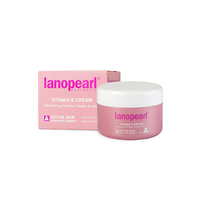 Lanopearl Vitamin E Cream Витамин Е крем с маслом вечерней примулы, коллагеном и ланолином