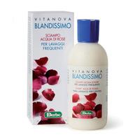Derbe Шампунь с розовой водой для тонких и жирных волос / BLANDISSIMO